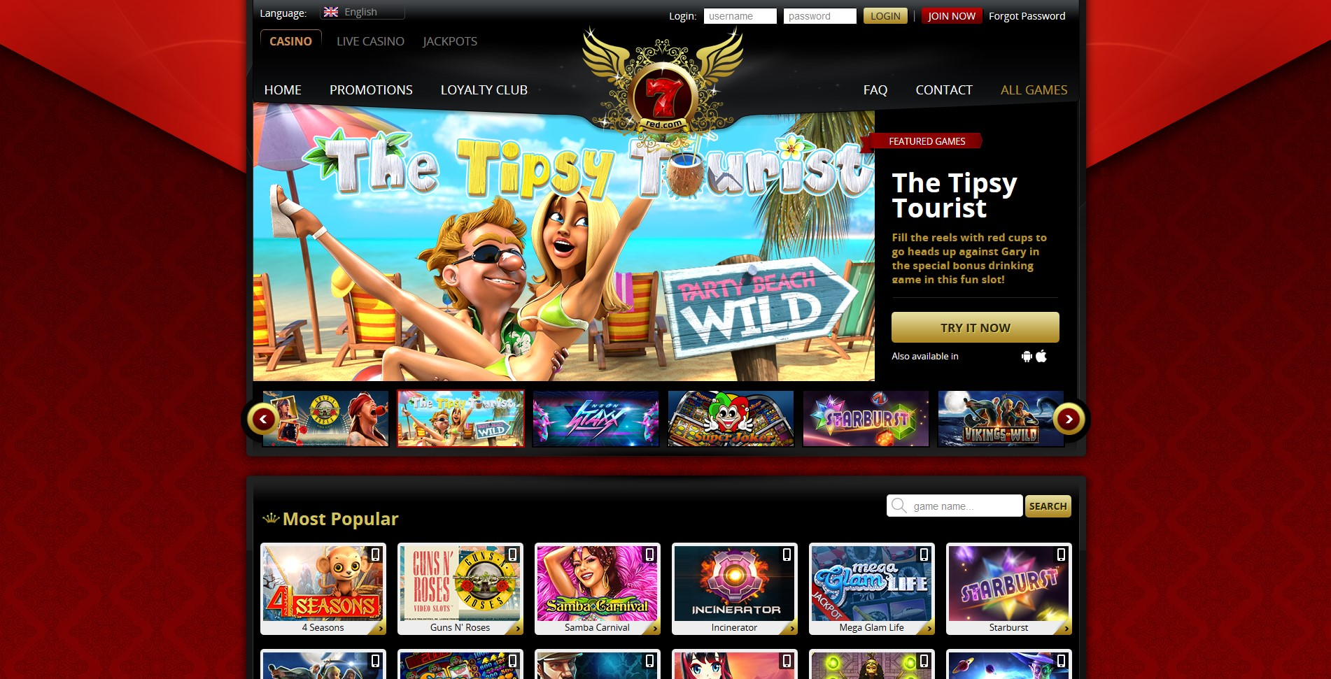 7 Red Casino Review – Expert Ratings and User Reviews