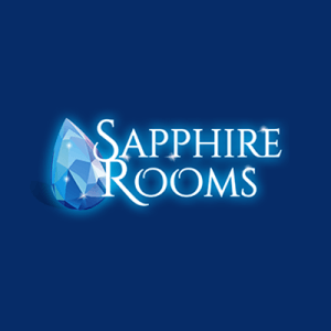 Sapphire Rooms | 10% of your losses back, up to £100, Every Tuesday sapphire casino logo