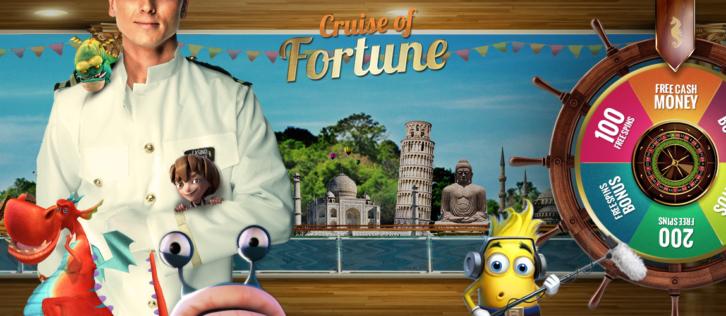 Cruise of Fortune: Every Day New Bonus offer @ Cruise Casino