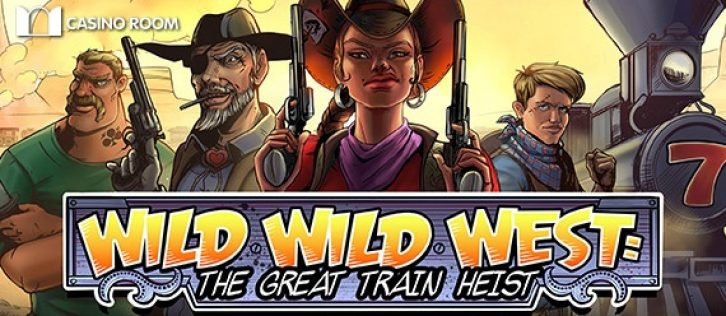 NetEnt's Wild Wild West is coming at Casino Room too!