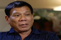 President Duterte talking about online gambling again