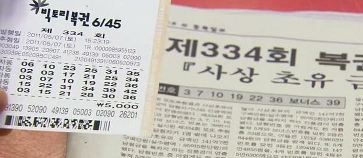 Korean lottery ticket sales hit new heights