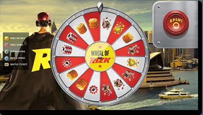 Play the Wheel of Rizk Casino - CasinoReviewsLand.com  Rizk Casino rizk2