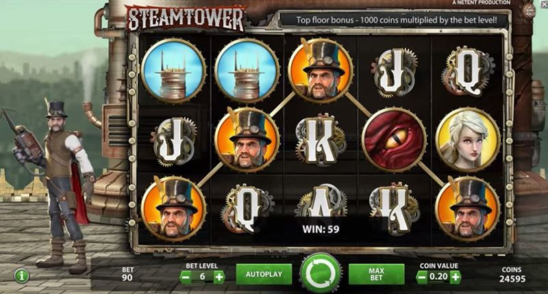 steamtower  NextCasino Are Here with a Brand New 3-part Welcome Offer and Free Spins steamtower