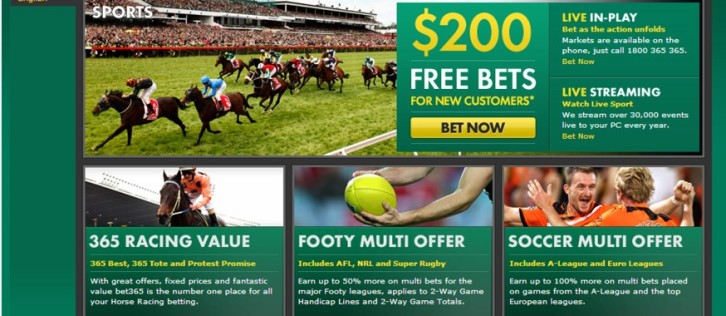"Bet365 fined for ""deceptive"" free-money offer to Australian players"