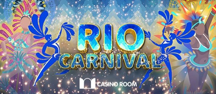 Casino Room celebrates 2017's Rio Carnival with €5000 prize pool!